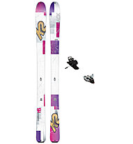 K2 Skis TalkBack 88 Set: Ski+Bindung