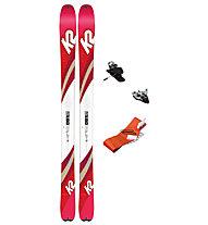 K2 Set Talkback 96: Ski + Bindung + Felle