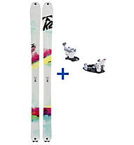 K2 Skis TalkBack Set: Ski+Bindung