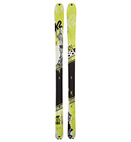 K2 Skis WayBack - sci da scialpinismo, Lemon/Black