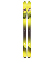 K2 Wayback 96 - sci da scialpinismo/freeride, Green/Yellow