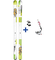 K2 Skis WayBack Set: Ski+Bindung