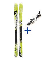 K2 WayBack Telemark Set: Ski+Bindung
