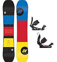 K2 Set Snowboard: WWW + Snowboard-Bindung