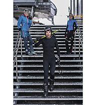 Kaikkialla Aatami - maglietta tecnica alpinismo - uomo, Black