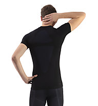 Kaikkialla Aatami - maglietta tecnica scialpinismo - uomo, Black