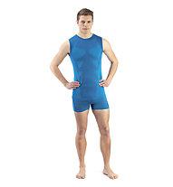 Kaikkialla Aatami - maglietta tecnica senza maniche - uomo, Light Blue