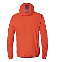 Kaikkialla Aikkila M - giacca hardshell con cappuccio - uomo, Red
