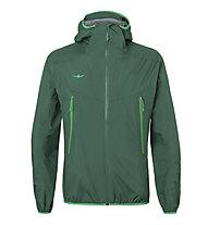Kaikkialla Aikkila M - giacca hardshell con cappuccio - uomo, Green