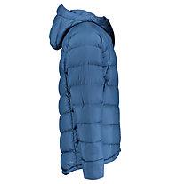 Kaikkialla Akseli - giacca in piuma con cappuccio - uomo, Blue