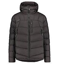 Kaikkialla Akseli - giacca in piuma con cappuccio - uomo, Black