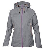 Kaikkialla Amanda - giacca antipioggia trekking - donna, Grey