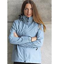 Kaikkialla Anitta - Giacca Hardshell trekking - donna, Light Blue