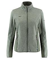 Kaikkialla Annukka - giacca in pile sport di montagna - donna, Grey