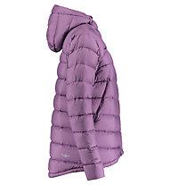 Kaikkialla Ansa - giacca in piuma con cappuccio - donna, Violet