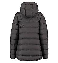 Kaikkialla Ansa - giacca in piuma con cappuccio - donna, Black