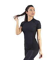 Kaikkialla Auli W - maglietta tecnica - donna, Black