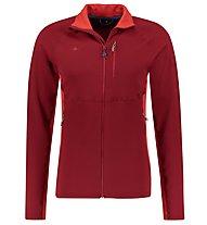 Kaikkialla Elias - giacca in pile - uomo, Dark Red