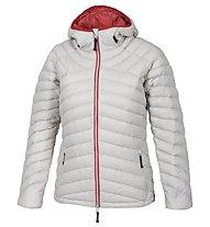Kaikkialla Elina - giacca in piuma trekking - donna, White