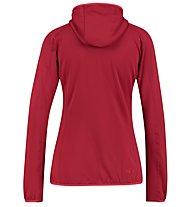 Kaikkialla Elvi - giacca in pile - donna, Dark Red