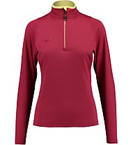Kaikkialla Eveliina Funktionsshirt Langarm Damen, Dark Red