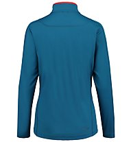 Kaikkialla Eveliina Funktionsshirt Langarm Damen, Light Blue