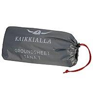 Kaikkialla Footprint Tana 1 - Schutzplane für Zelt, Black