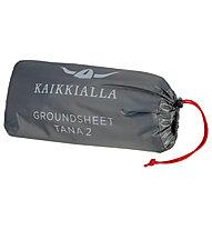Kaikkialla Footprint Tana 2 - Schutzplane für Zelt, Black