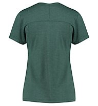 Kaikkialla Jaana S/S - Kurzarm-Shirt Bergsport - Damen, Dark Green