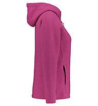 Kaikkialla Kainuu - Strickjacke mit Kapuze - Damen, Pink