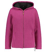 Kaikkialla Kainuu W - giacca con cappuccio - donna, Pink