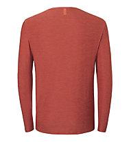 Kaikkialla Kajaani M L/S - maglia a maniche lunghe - uomo, Red
