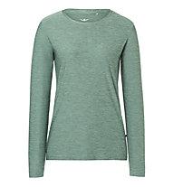 Kaikkialla Kajaani W L/S - Langarmshirt - Damen, Green