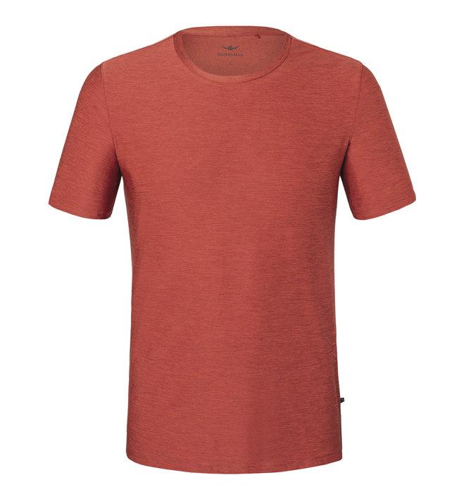 Kaikkialla Kajoo M S/S - T-shirt - Herren, Red