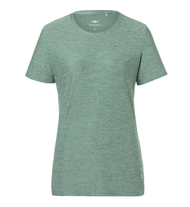 Kaikkialla Kajoo W S/S - T-shirt - Damen, Green