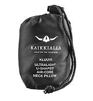 Kaikkialla Kluuvi UL - cuscino poggiatesta, Black/Grey