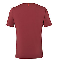 Kaikkialla Koli M S/S - T-Shirt - Herren, Dark Red