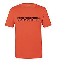Kaikkialla Koli M S/S - T-Shirt - Herren, Orange