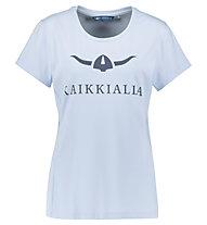 Kaikkialla Koli W S/S - T-Shirt - Damen, Light Blue