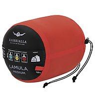 Kaikkialla Lamula - Schlafsack, Black/Red