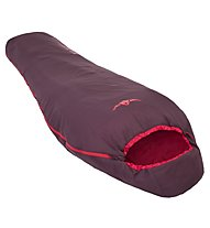 Kaikkialla Lentiira 12 - Schlafsack, Dark Red