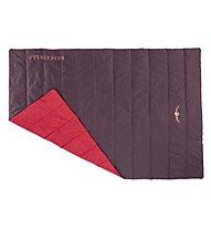 Kaikkialla Lentiira Blanket - Campingdecke, Wine Red