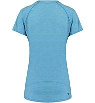 Kaikkialla Maaria Shirt Damen T-Shirt Kurzarm, Blue