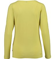 Kaikkialla Maila T-shirt Maglia a maniche lunghe Donna, Yellow