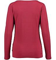 Kaikkialla Maila T-shirt Maglia a maniche lunghe Donna, Red