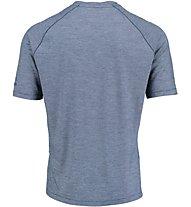 Kaikkialla Mainio Wool Shirt Herren T-Shirt Kurzarm, Blue