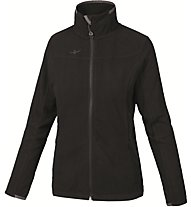 Kaikkialla Marita Fleecejacket Damen Fleecejacke, Black