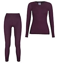 Kaikkialla Merino 100% - Funktionswäsche SET - Damen, Purple