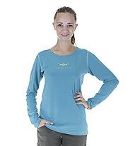 Kaikkialla Nelli L/S Shirt Woman, Bluebird