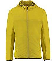 Kaikkialla Niilo - Giacca con cappuccio trekking - uomo, Yellow